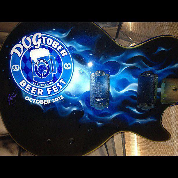 dogtober12 guitar