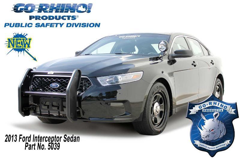 Go Rhino 2013 Ford Interceptor Sedan Push Bumper