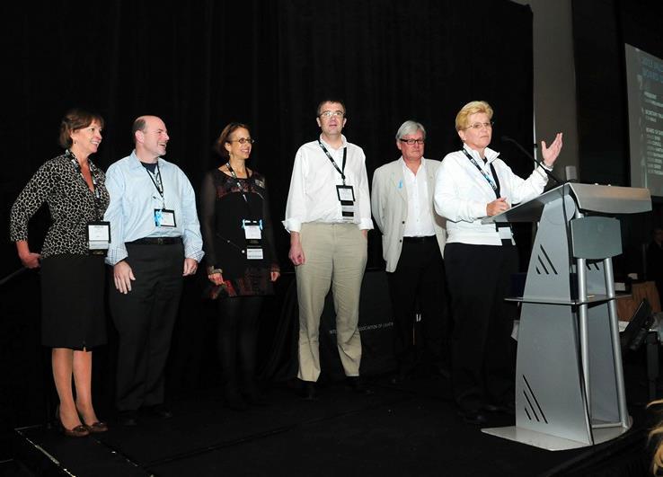 trust board at enlighten americas 2013