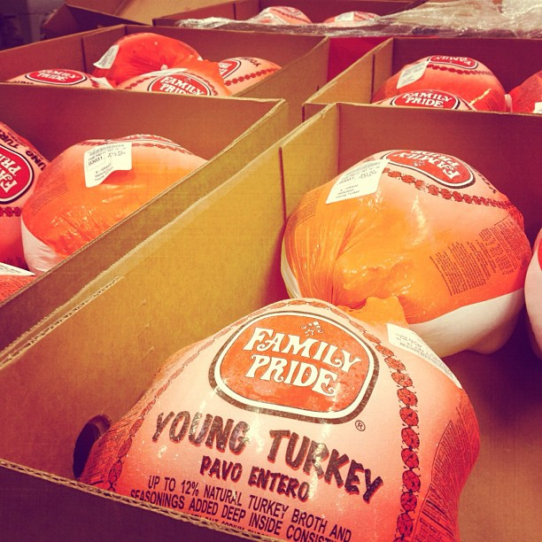 Turkeys distributed at Help Yourself