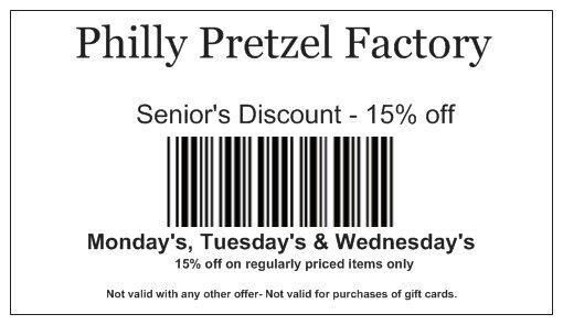 image about Philly Pretzel Factory Coupons Printable known as Could E- Discount coupons Moms Working day Discounts