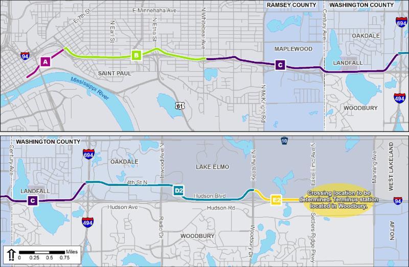 448 Lake Elmo Supports Gateway Corridor Bus Rapid Transit LPA   September 17, 2014