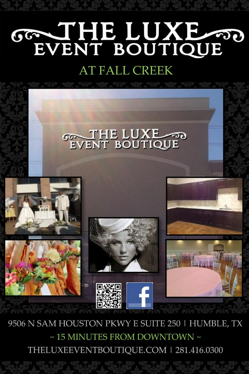 The Luxe Event Boutique at Fall Creek Grand Opening Extravaganza