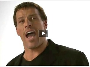 Tony Robbins talking about history of Basket Brigade