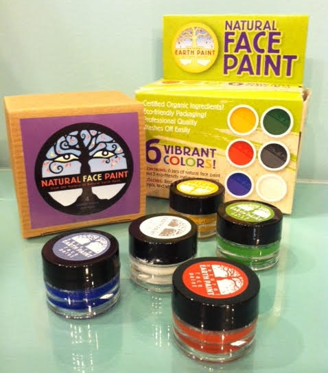 All Natural Face Paints