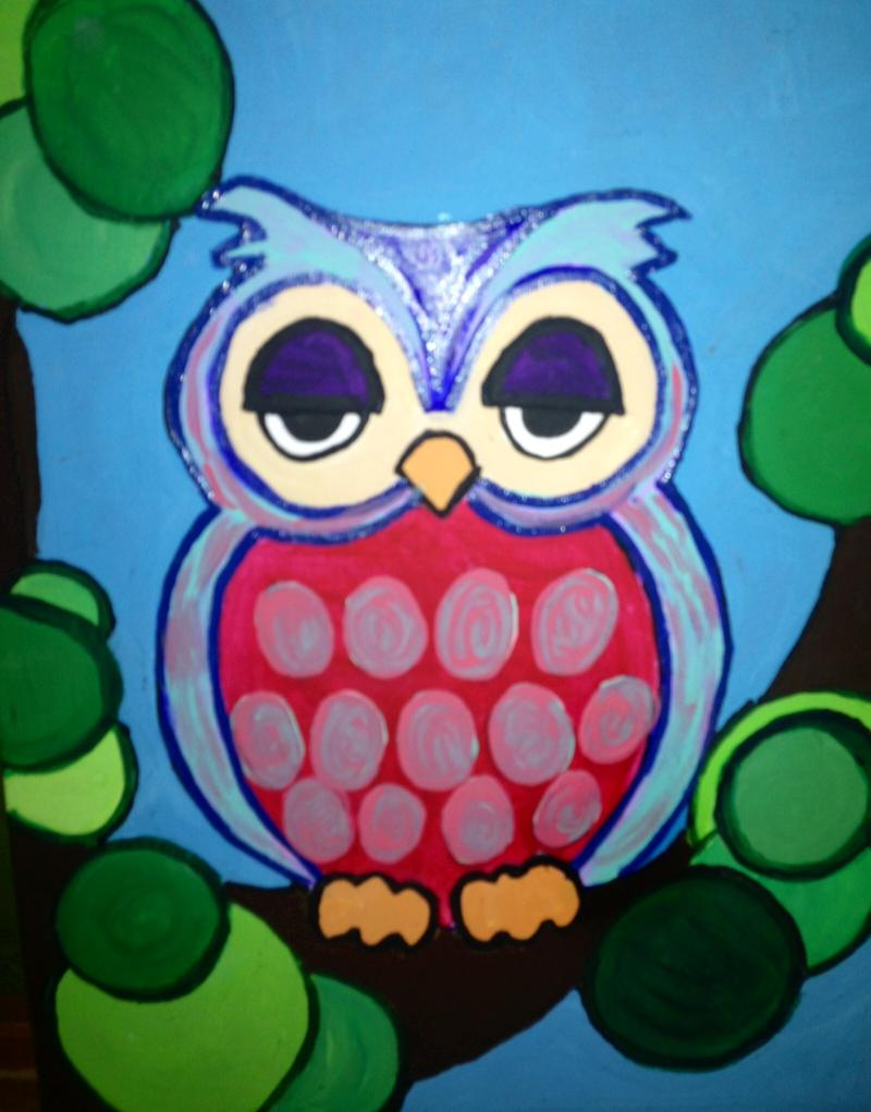 owl painting - Owl Pictures For Kids