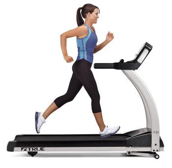 girl running on true tread
