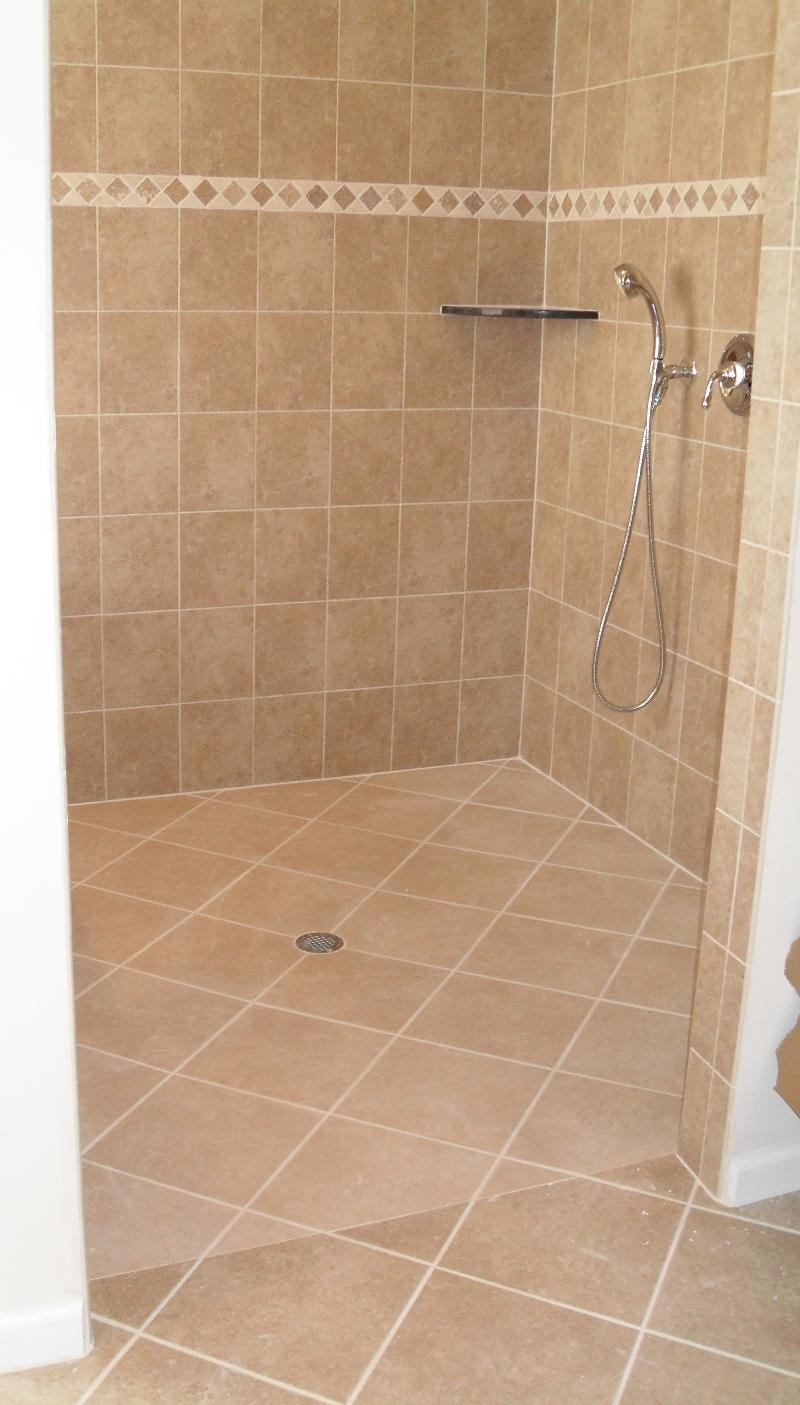 Zero-step Entry Shower