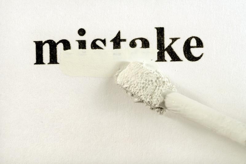 Mistake Erased