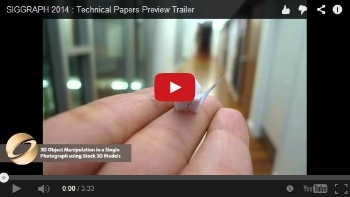 2014 Technical Papers Preview Trailer