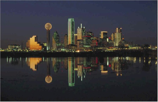 Dallas Skyline Nighttime