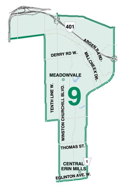 Ward 9 Map