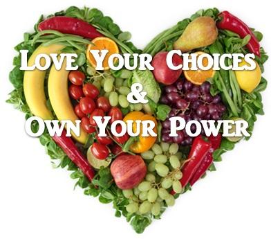 Veggie Heart Love Power