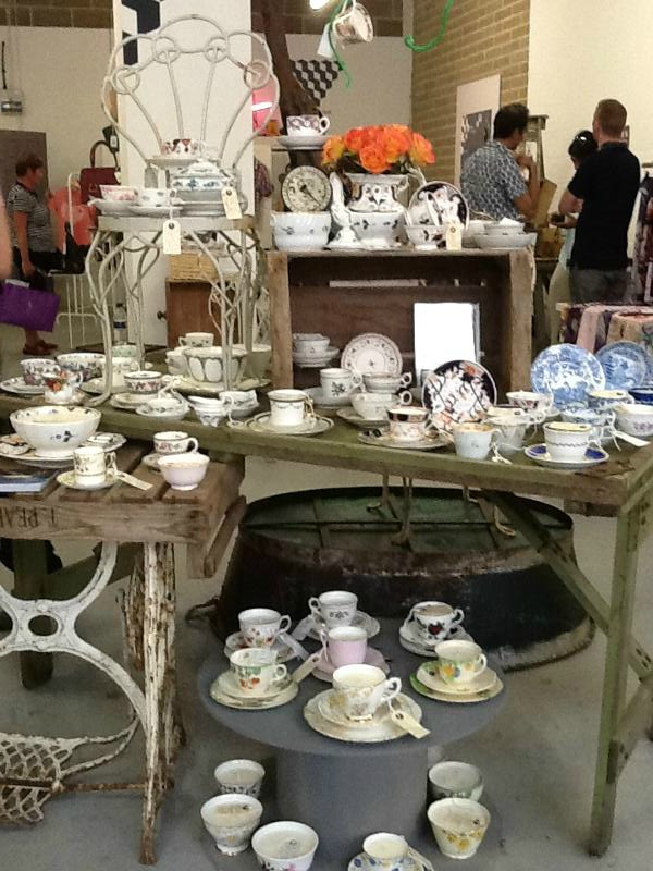 Pop Up Piccadilly - Eco Antique Teacup Candles