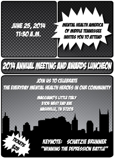 Mental Health America Of Middle Tennessee 2014 Annual Meeting