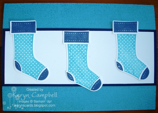 stitched stockings christmas card