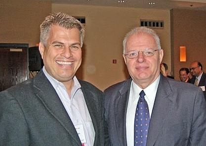 John Dickson with Howard Schmidt