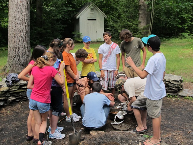 Teen outdoor adventures at Beaver Brook
