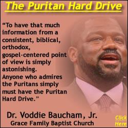 Dr. Voddie Baucham Puritan Hard Drive Quote Graphic
