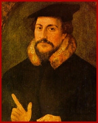 John Calvin Color Graphic