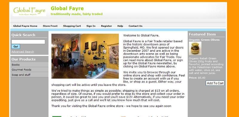 Global Fayre online store