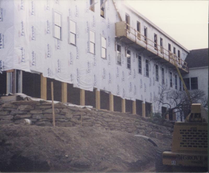 South Wing Construction