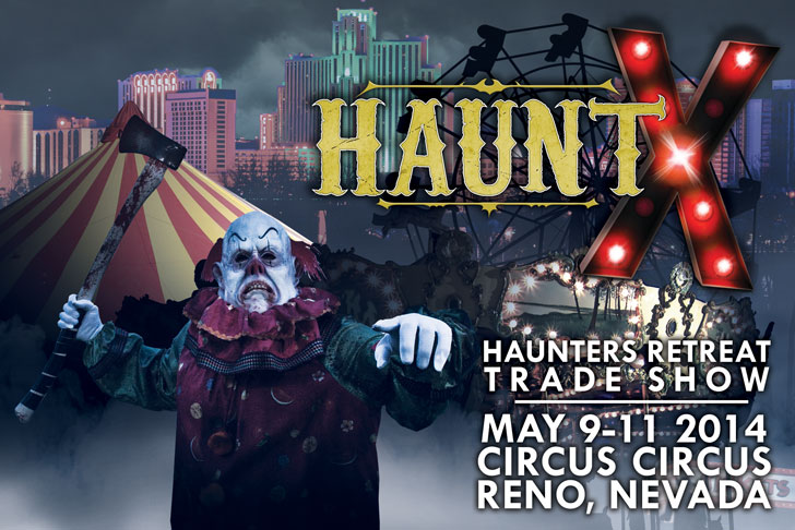 HauntX Haunter's Retreat & Trade Show
