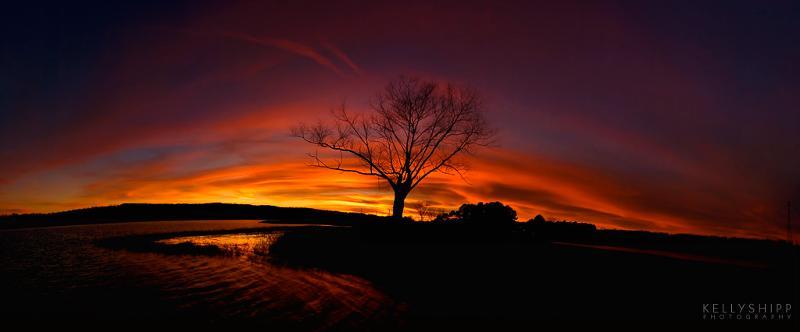 Kelly Shipp Winter Sunset