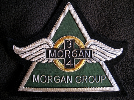 Morgan 3/4 logo