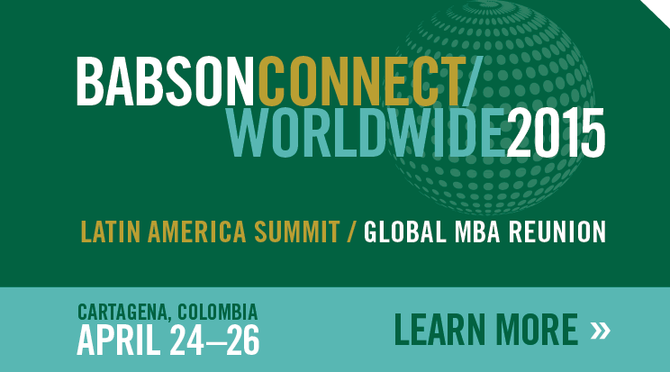 Babson Connect Worldwide: 2015