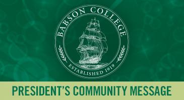 President's Community Report