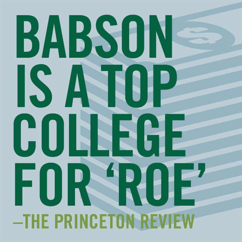 Babson is a top college for 'ROE'