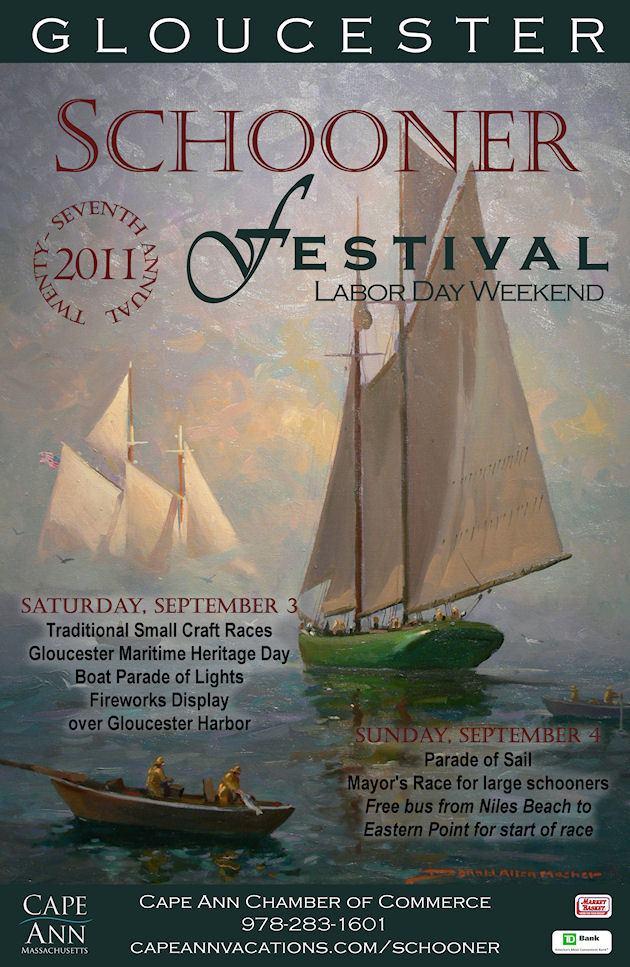 2011 Gloucester Festival Poster
