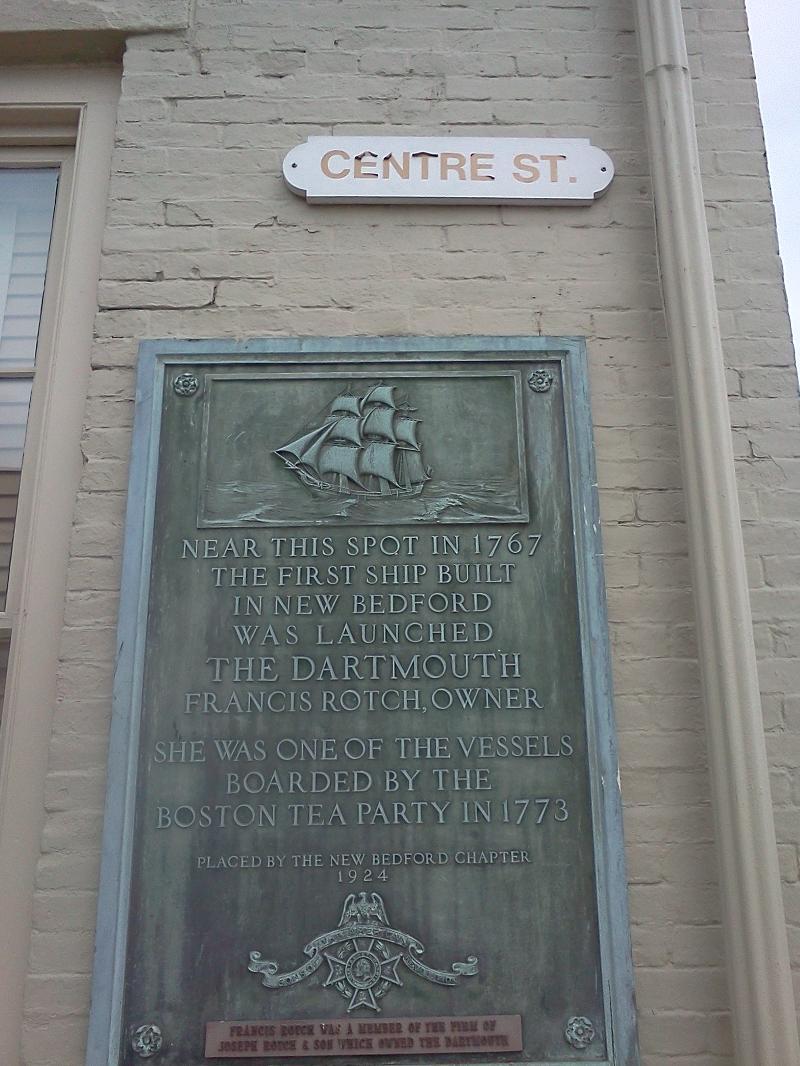 Dartmouth Plaque