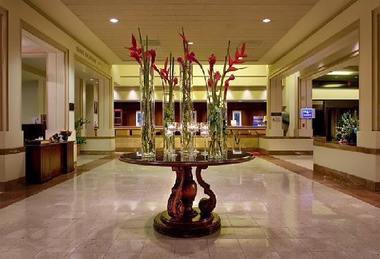 Long Beach Marriott Lobby