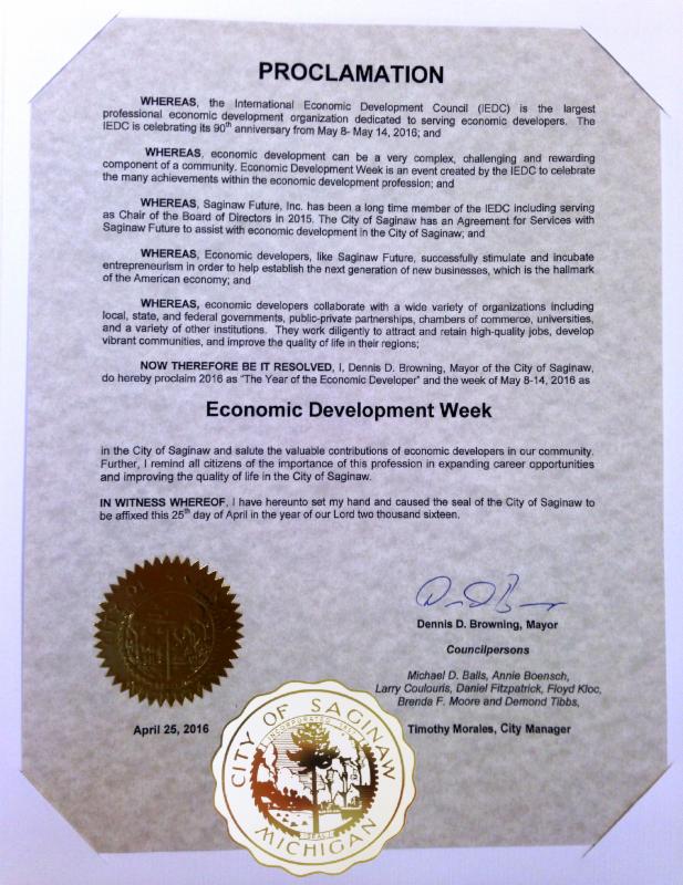 City Proclamation