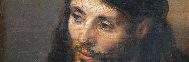 Head of Chris (1648/detail) by Rembrandt Harmenszoon van Rijn (1606-1669)