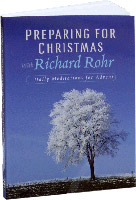 Preparing for Christmas with Richard Rohr -- pocket edition (book cover)