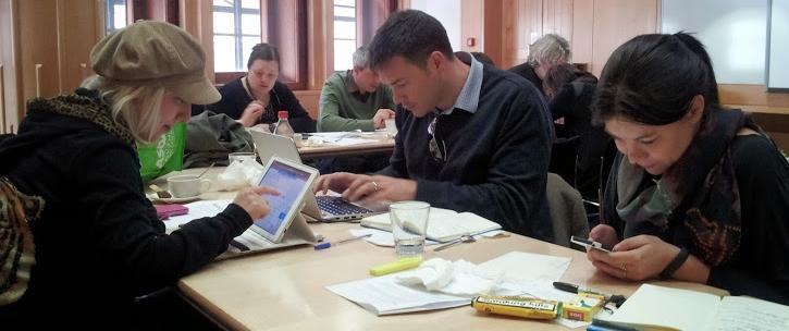 British Library workshop