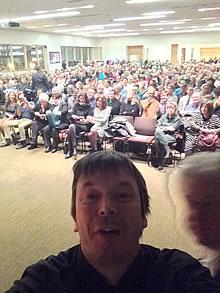 Ian Rankin selfie