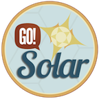 Gorge Owned GO! Solar logo.png