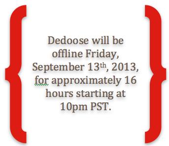 Dedoose Offline 9-13-13