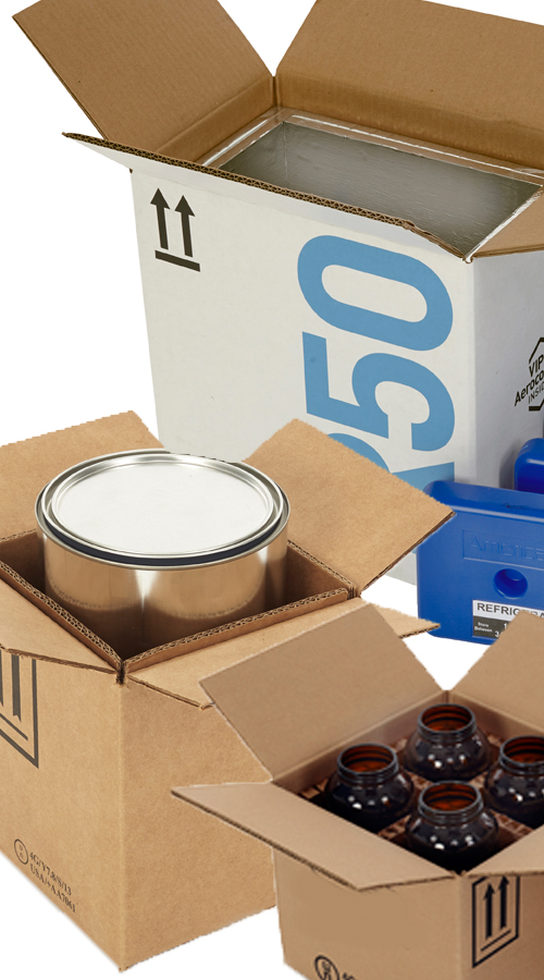 Some of Berlin Dangerous Goods' Eco-Friendly Packaging Options