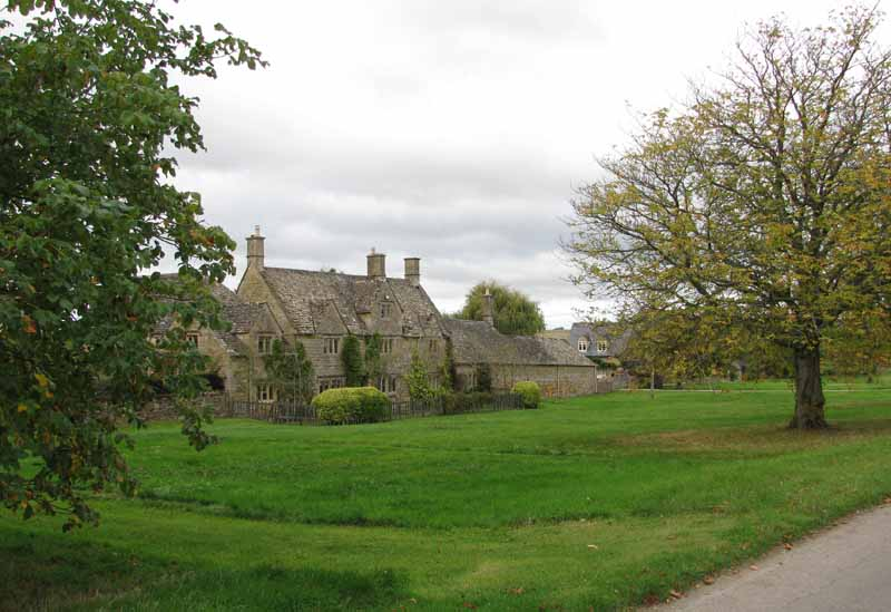 Wyck Rissington in the Cotswolds