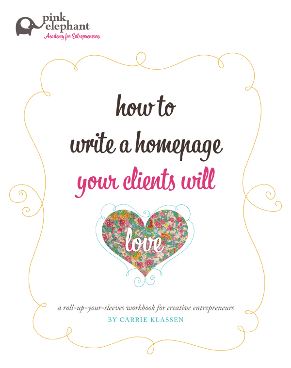 89 how to write a lovable homepage