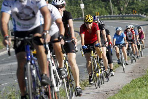 Cyclists - Belleville