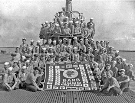 USS Barb Crew
