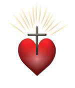 Heart Logo of Holy Faith Catholic Church