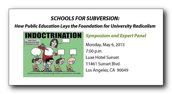 Schools for Subversives