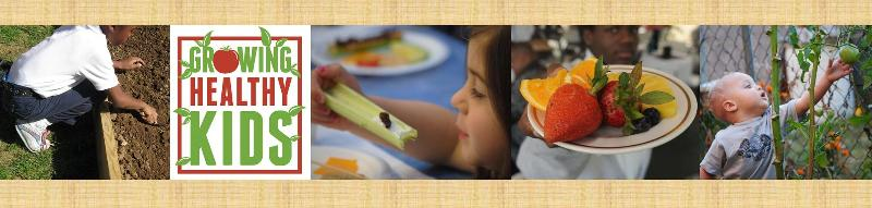 growing healthy kids banner